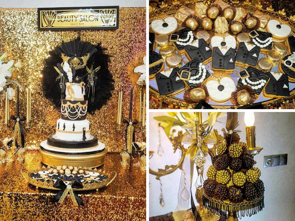 Gatsy Wedding Decoration and Ideas