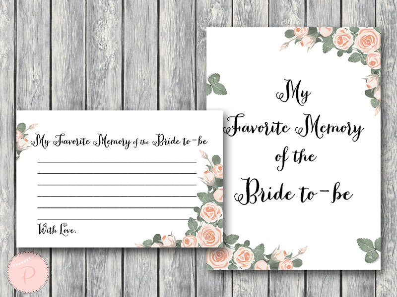 Pink Floral Bridal Shower Game Printable Bride Amp Bows