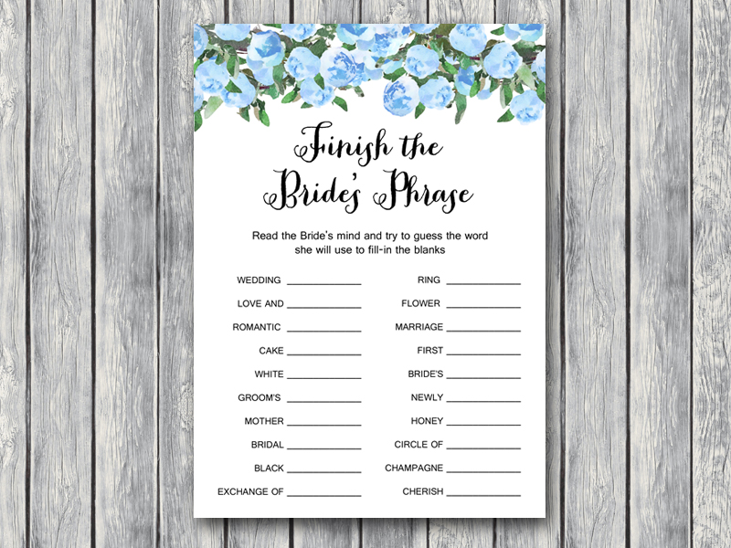 th17 5x7 finish brides phrase blue bridal shower